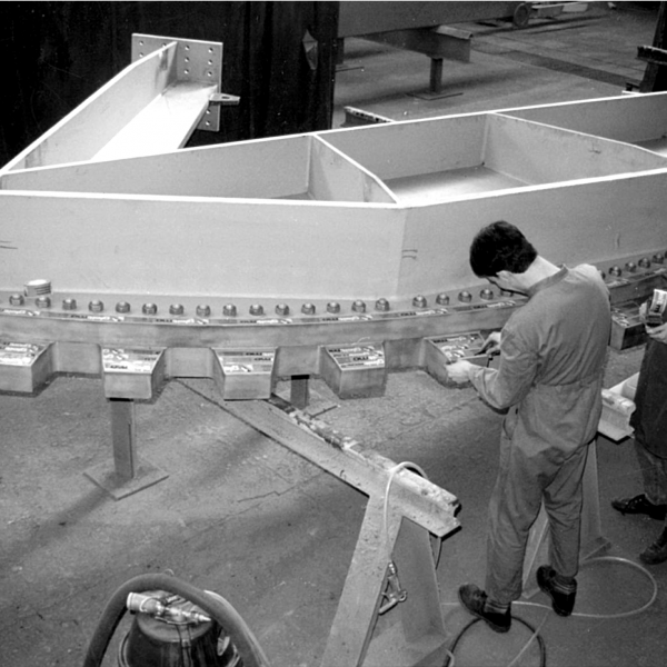 Andreas Wessely beim Arbeiten in der Wessely GmbH